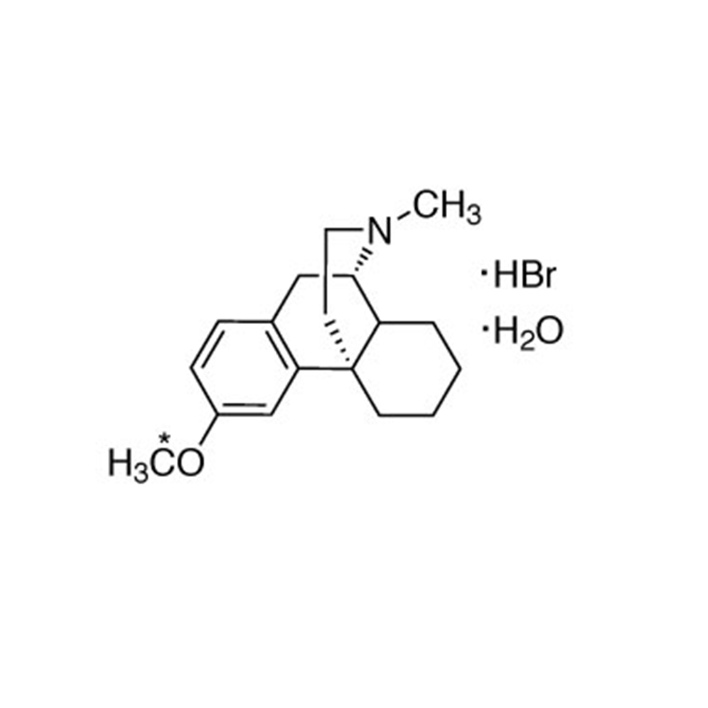 DEXTROMETHORPHAN:HBR:H2O(O-METHYL-13C,98%)|CLM-7296-CTM